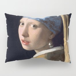 Johannes Vermeer - Girl with a Pearl Earring Pillow Sham