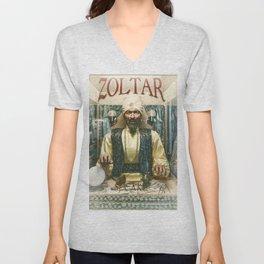 Zoltar the fortune teller London England UK Unisex V-Neck