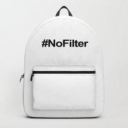 #NoFilter Black Backpack