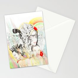 Crazy Family Stationery Cards