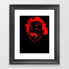 I __ Genius Framed Art Print