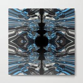 Blue Gel 2 Metal Print