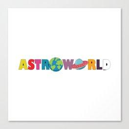 Astroworld Canvas Print