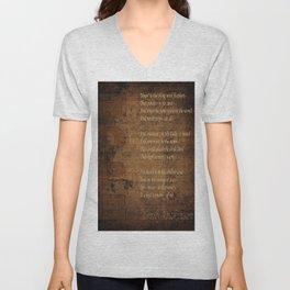 Emily Dickinson 5 Unisex V-Neck