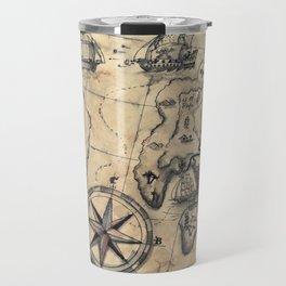 Old Nautical Map Travel Mug