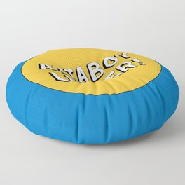 Attaboy Luther! Floor Pillow