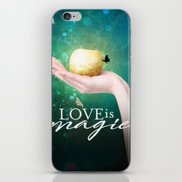 Love is Magic iPhone Skin
