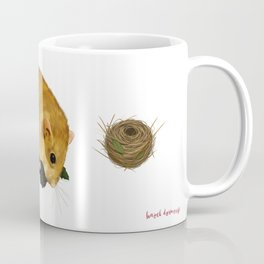 Hazel Dormouse - Summer Coffee Mug