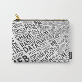 Social Media Carry-All Pouch