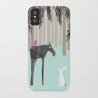 moose iPhone & iPod Cases featuring Moose by Dream Of Forest