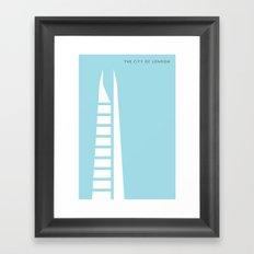 Iconic London: The Shard Framed Art Print