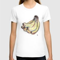 banana T-shirts featuring Banana by Ursula Rodgers