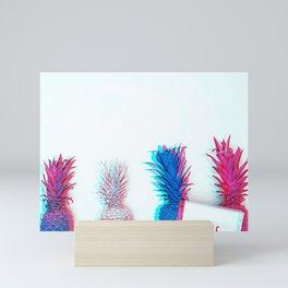 Hype Pineapple Mini Art Print