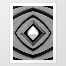 Octahedron Art Print