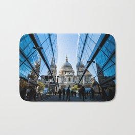 London City Blue Bath Mat