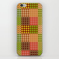 quilt iPhone & iPod Skins featuring quilt by Isabella Asratyan