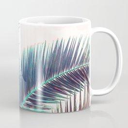 Nostalgic Palm Leaves #Decor #Vintage #BuyArt Coffee Mug