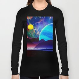 A Sunday Afternoon On The Island Of A Distant Planet Long Sleeve T-shirt