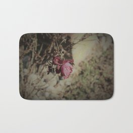 December Rose Bath Mat