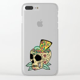 Make Salsa Not War Clear iPhone Case