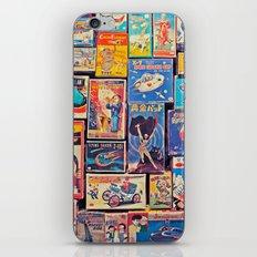 Toy Warp iPhone & iPod Skin