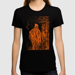 The Ghost at the Door T-shirt