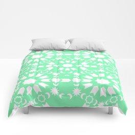 Peppermint Arabesque Comforters