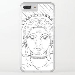 Fulani Clear iPhone Case