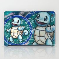 squirtle iPad Cases featuring 7 - Squirtle by Lyxy