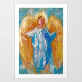 Angel Of Harmony -  by OLena Art Art Print