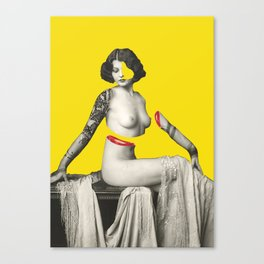 Slices Canvas Print