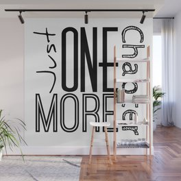 Just One More Chapter Wall Mural