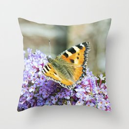 Butterfly IX Throw Pillow
