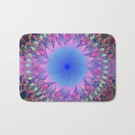 Hippie Starburst Mandala Bath Mat