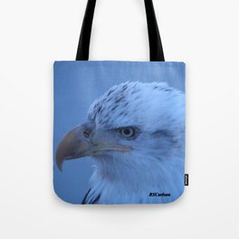 Young Eagle in Failing Light Tote Bag