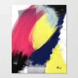 Magenta Breakthrough Canvas Print