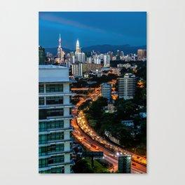 KL City Canvas Print