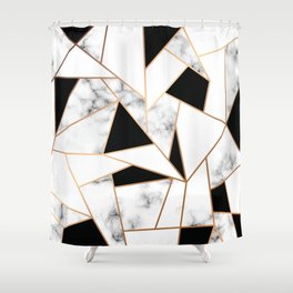 Marble III 003 Shower Curtain