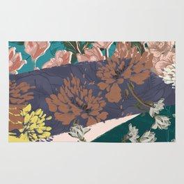 Flower Textures 03 Rug