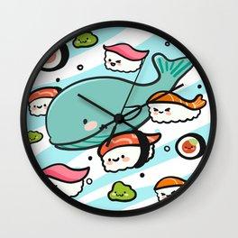 Sushi Bunch Wall Clock