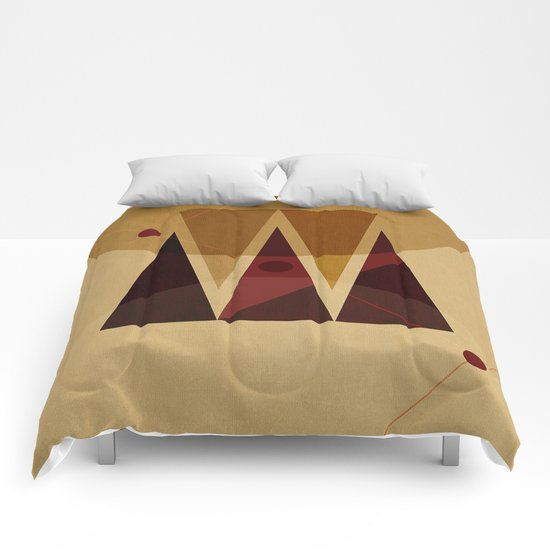 Geometric/Abstract 13 Comforters