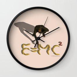 Simi-einstein Wall Clock