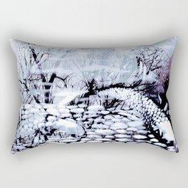 Blue Koi Rectangular Pillow