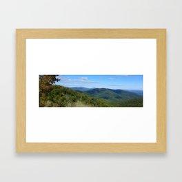 Shenandoah National Park Panorama3 Framed Art Print