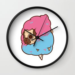 Puglie Cotton Candy Wall Clock