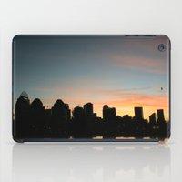 cincinnati iPad Cases featuring Cincinnati Skyline by Page Lansley