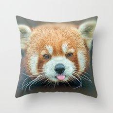 PANDA-RING TO ONE'S TASTE Throw Pillow