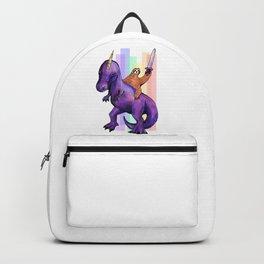 sloth dinosaur unicorn Backpack