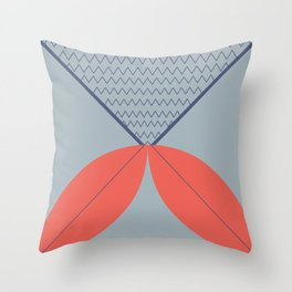 Never ending fish 2 part 2 Throw Pillow