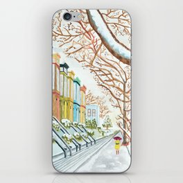Winter in NYC iPhone Skin